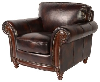 Wondrous Lazzaro Leather Whitaker Chair Buckeye Traditional Armchairs And Accent Chairs By Greatfurnituredeal Lamtechconsult Wood Chair Design Ideas Lamtechconsultcom