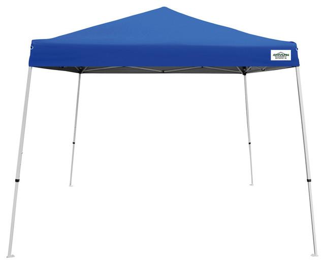 Caravan Canopy Sports 10&x27;x10&x27; Blue V-Series 2 Canopy.