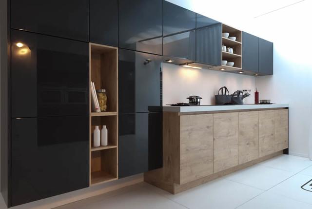 Rotpunkt Küchen rotpunkt küchen schwarz hochglanz