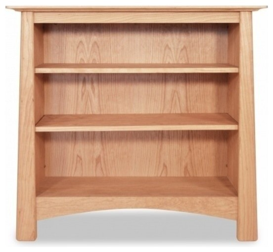 Harvestmoon Bookcase Without Gl Doors Walnut