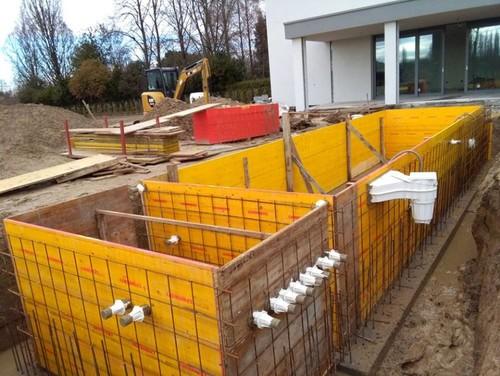 Piscina interrata in cemento armato - Costruzione piscina in cemento armato ...