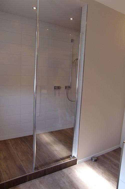 Dusche Mit Stufe vorher nachher badrenovierung