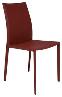Nuevo Sienna Dining Side Chair Set Of 2 NU988 Contemporary Dining Cha