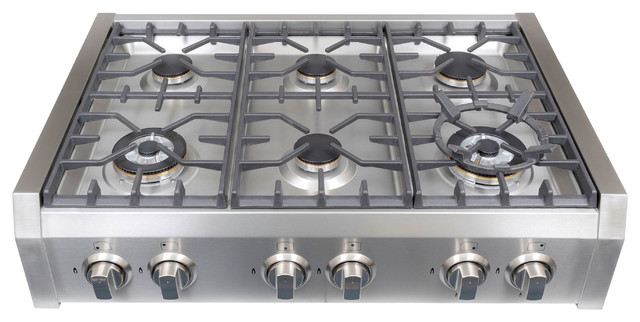Gas Cooktop Professional Style