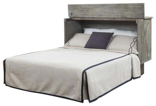 Arason Creden-ZzZ Queen Cabinet Bed With Mattress In