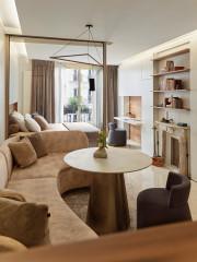 Avant/Après : Un élégant studio pensé comme une suite d'hôtel