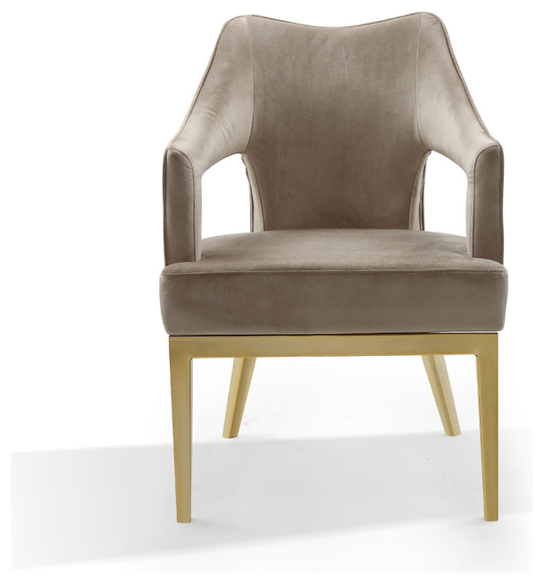 Taupe Accent Chairs.Gourdon Taupe Accent Chair