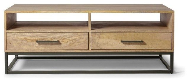 Ashton Wooden Coffee Table With Drawers