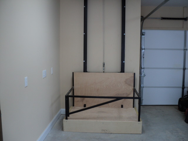 Dumb waiter other by don thomas construction for Exterior dumbwaiter