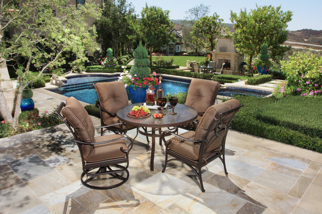 Alu Mont Aluminum Furniture Los Angeles By Brooks Outdoor