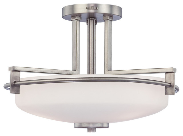 quoizel taylor semi flush mount contemporary flush
