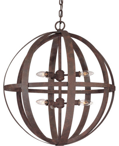 Troy Lighting Troy Lighting F2516 Flatiron 6 Light 2 Tier Wrought – Chandeliers Wrought Iron