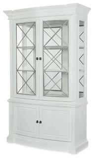 Rachael Ray Home Upstate Display Cabinet, Bianco