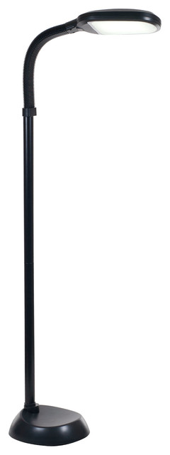 Led Full Spectrum Sunlight Therapy Floor Lamp With Dimmer Switch By Lavish Home.