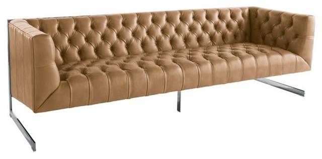 Retro Tufted Sofa Peanut Ility