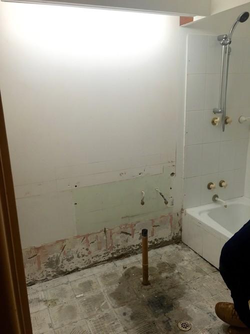 Small Bathroom Reno - Small bathroom reno