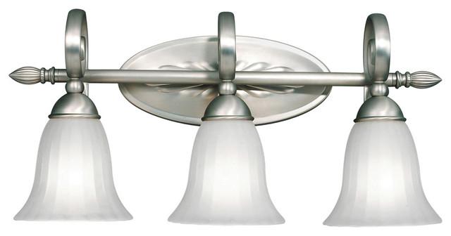 Kichler 45629pn Stelata Contemporary Polished Nickel 3: Kichler Lighting 5928NI Willowmore Transitional Bathroom