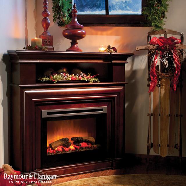 Room Electric Fireplace Media Console - 3 SEI Antebellum Media ...