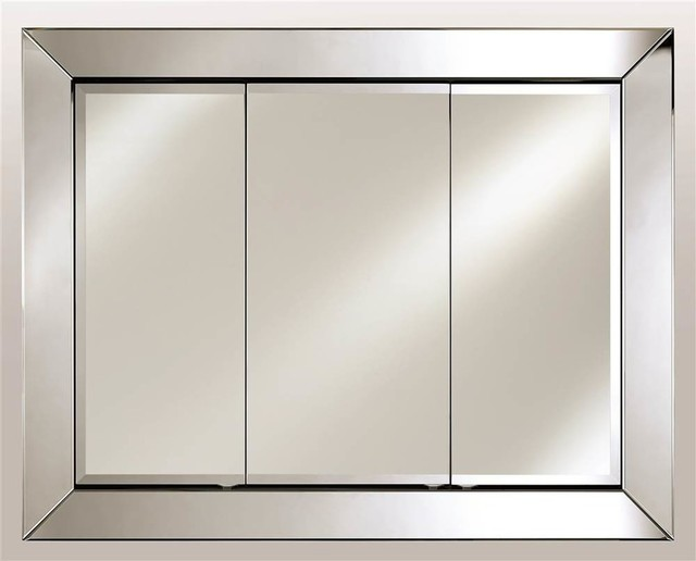 Shopping Large Contemporary Triple Door Medicine Cabinets 51 X40
