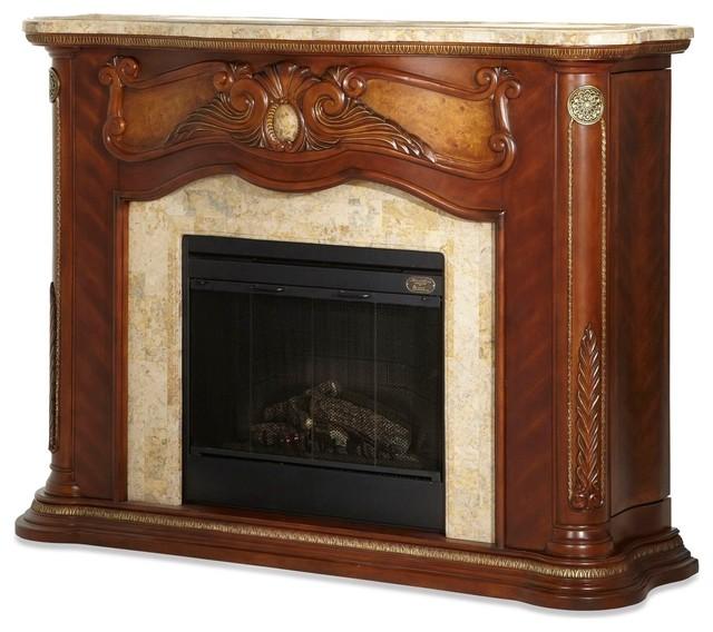 Aico Michael Amini Cortina Electric Fireplace Victorian