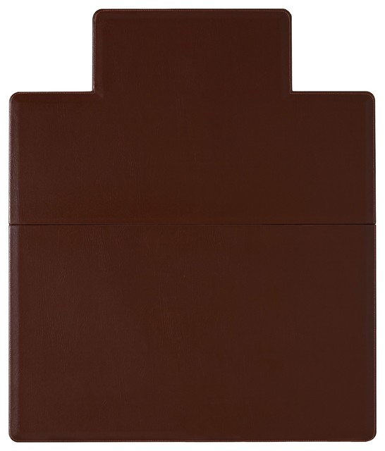 Anji Mountain Wilson Leather Chair Mat Amp Reviews Houzz