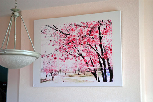 Dining room diy art on flickr photo sharing for 3d dining room wall art