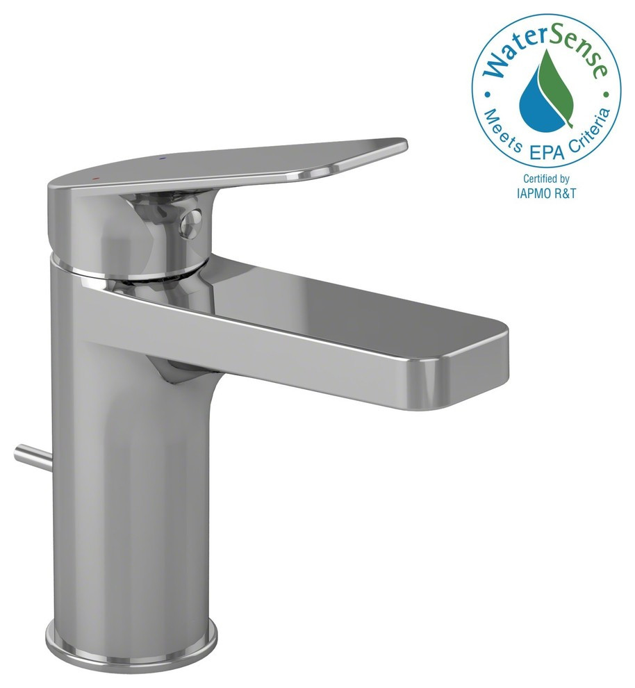 Toto Oberon S Single Handle 1 5 Gpm Bath Faucet Polished Chrome Contemporary Bathroom Sink Faucets By Kitchen And Bath Distributor