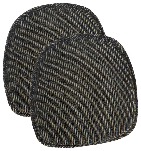 Gripper Tonic 14.5x14 Delightfill Bistro Chair Cushion, Set Of 2, Taupe.