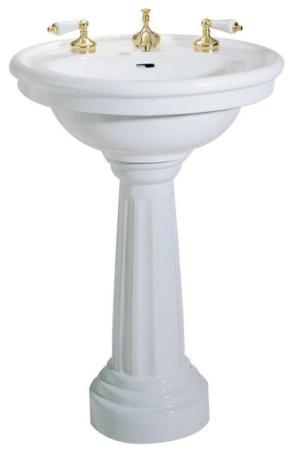 standing bathroom sink bathrooms standing pedestal sink white china 8 quot widespread 14554