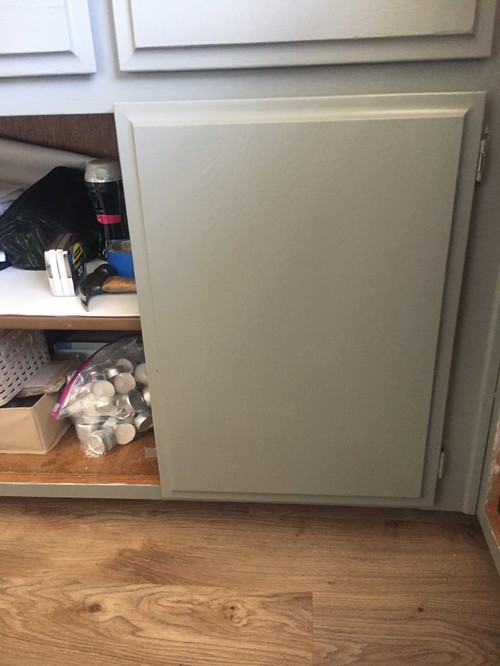 Add Knobs To Beveled Edge Cabinet Doors