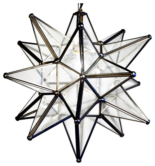 Outdoor Moravian Star Pendant Light