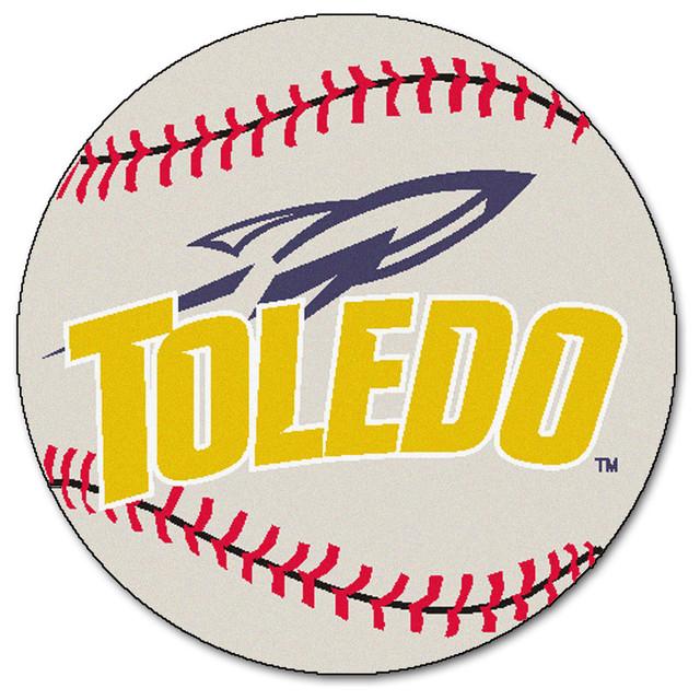 Toledo rockets grand slam baseball area rug traditional area rugs