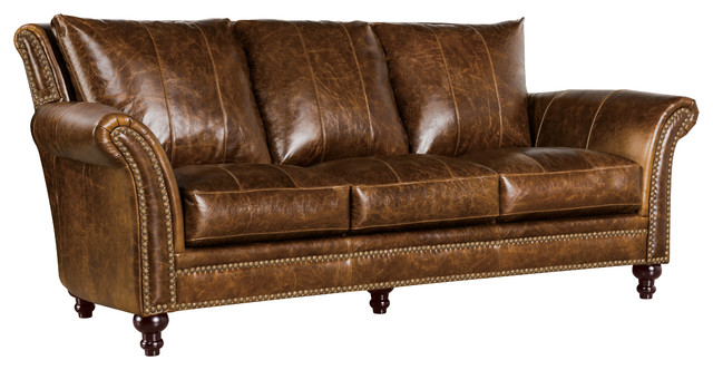 Archibald 100% Top Grain Italian Leather Sofa