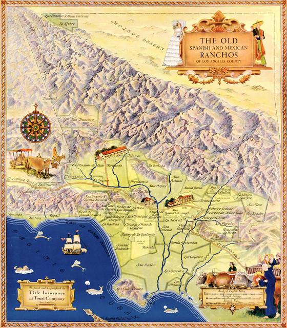 image regarding Printable Maps of Los Angeles identified as \