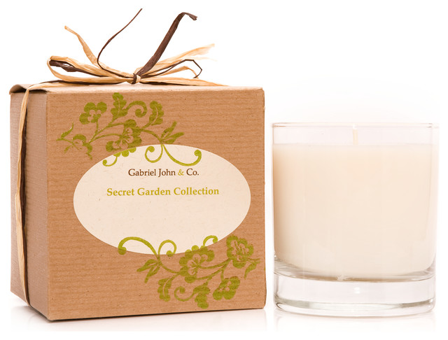Secret Garden Collection Candle, French Lavender & Tangerine