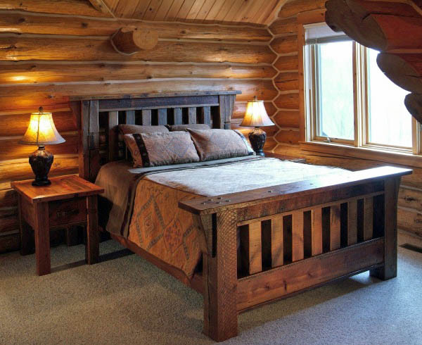 Barnwood Mission Style Bed