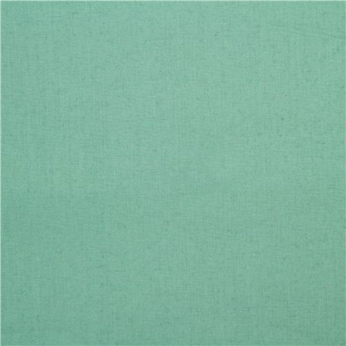 sea green birch organic fabric from the USA one color