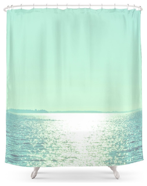 society6 summer shine shower curtain beach style. Black Bedroom Furniture Sets. Home Design Ideas