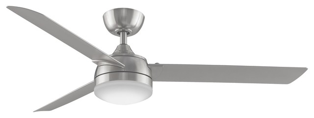 "56"" Xeno Ceiling Fan, Brushed Nickel."