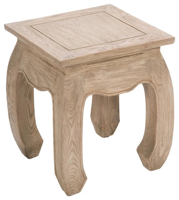 Beijing Small Oak Side Table