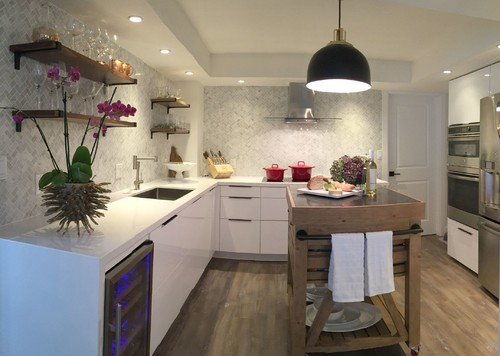 Superb Fort Lauderdale Beach Condo Kitchen Remodel
