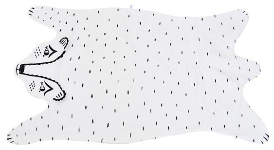 Heirloom Bear Blanket by Roxy Marj