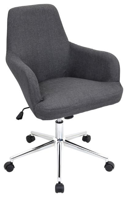 Ipswich Office Chair, Gray.