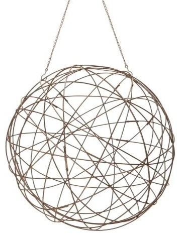 Dimond Home 594046 Aged Iron Wire Sphere Large