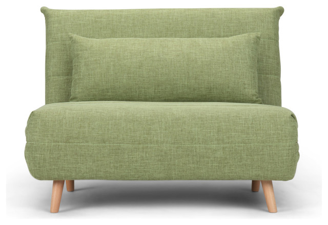 Asher Roll Out Sofa Bed Midcentury
