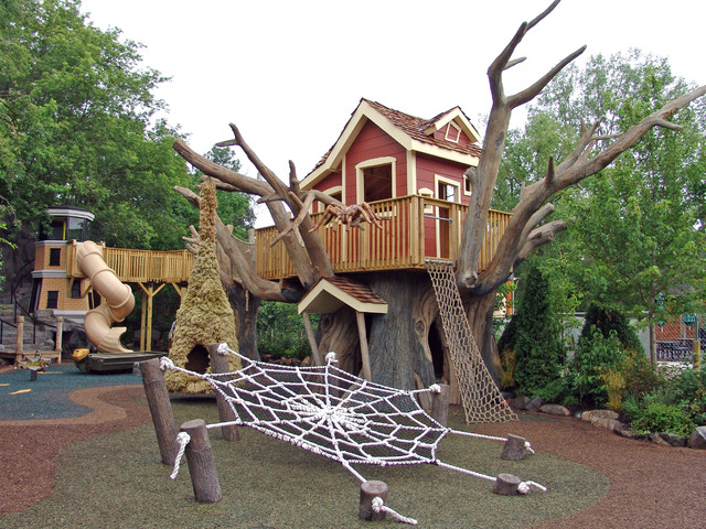 Elevated Tree house and Lighthouse Playground - Minneapolis - by ...