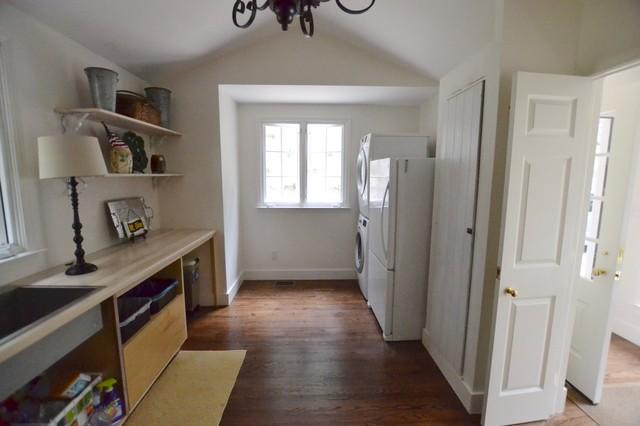 Refreshed Wash Room & Custom Doors