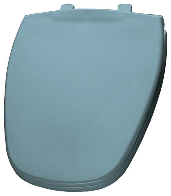Bemis 1240200 000 Plastic Round Toilet Seat Contemporary