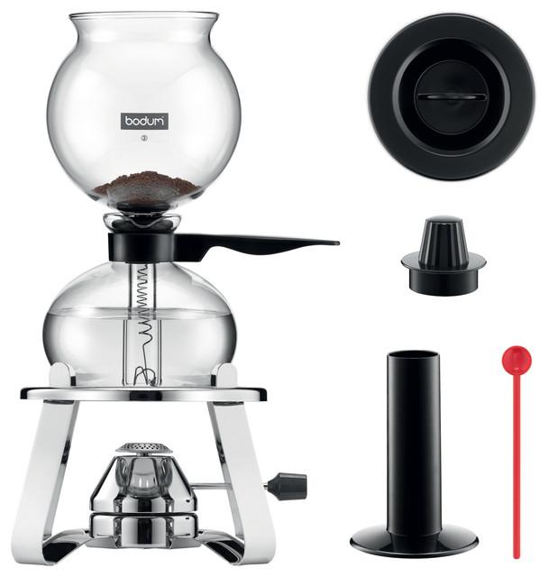 Bodum Pebo Vacuum Coffee Maker.