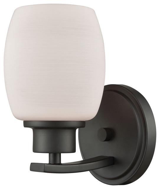 "Thomas Lighting CN170171 Casual Mission 1 Light 5""W Bathroom - Bronze"